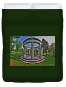 Architecture Of Forest Lawn  Duvet Cover