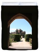 Archway Chateau Of Berze Duvet Cover