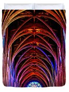 Archway In Grace Cathedral In San Francisco-california Duvet Cover