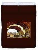 Arcosanti Duvet Cover
