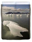 Arctic Ice Floe Duvet Cover