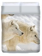 Arctic Wolf Pictures 1081 Duvet Cover