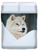 Arctic Wolf Pictures 1144 Duvet Cover