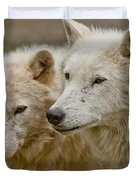 Arctic Wolf Pictures 1174 Duvet Cover
