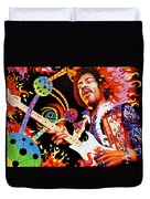 Jimi Hendrix Are You Experienced Duvet Cover