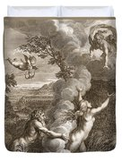 Arethusa Pursued By Alpheus And Turned Duvet Cover