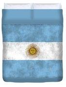 Argentina Flag Duvet Cover