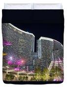Aria Light - Aria Resort And Casino At Citycenter In Las Vegas Duvet Cover