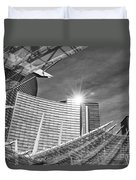 Aria Sun - Aria Resort And Casino At Citycenter In Las Vegas Duvet Cover