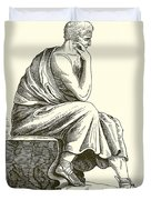 Aristotle Duvet Cover