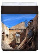 Arivaca Ruins Duvet Cover