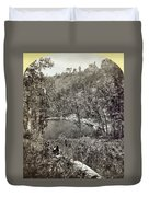 Arizona Apache Lake, 1873 Duvet Cover