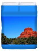 Arizona Bell Rock Hdr Duvet Cover