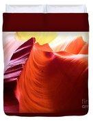 Arizona Desert Rainbow Duvet Cover