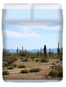Arizona Desert Ride Duvet Cover