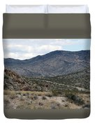 Arizona Mountains Duvet Cover