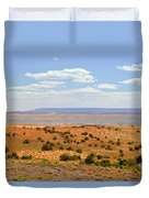 Arizona Near Canyon De Chelly Duvet Cover by Christine Till