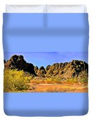 Arizona Panorama Organ Pipe Duvet Cover