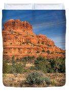 Arizona Sedona Bell Rock  Duvet Cover