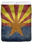 Arizona State Flag Duvet Cover
