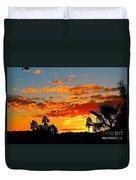 Beautiful Arizona Sunset Duvet Cover