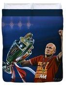 Arjen Robben Duvet Cover