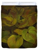 Arkansas Green Duvet Cover