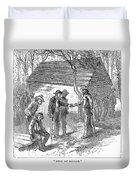 Arkansas Hot Springs, 1878 Duvet Cover