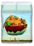 Arky Hot Air Balloon Duvet Cover