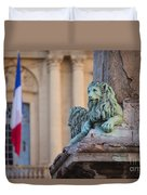 Arles Place De La Republique Duvet Cover