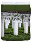 Arlington National Cemeterey Duvet Cover by Susan Candelario