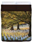 Arlington National Cemetery Washington Dc Duvet Cover