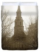 Arlington Street Church Unitarian Universalist Boston Massachusetts Circa 1900 Duvet Cover
