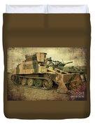 Armoured Power  Duvet Cover