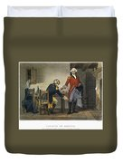 Arnold And Andre, 1780 Duvet Cover
