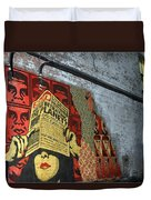 Arnolds And Graffiti Andre The Giant Has A Posse Duvet Cover