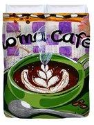 Aroma Cafe Duvet Cover