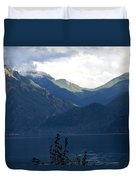Around Lake Crescent - Washington Duvet Cover