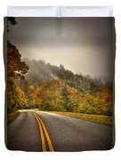 Around The Bend Clouds Along The Blue Ridge Parkway Duvet Cover