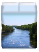 Around The Bend Duvet Cover