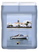 Arrecife On Lanzarote Duvet Cover