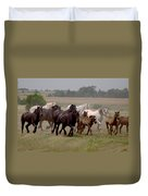 Arrington Ranch Herd - 2 Duvet Cover