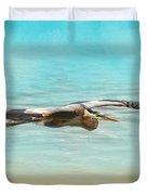 Arrival - Blue Heron - Wildlife Duvet Cover