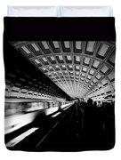 Arriving Metro Duvet Cover