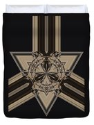 Arrow Of Jewels Duvet Cover
