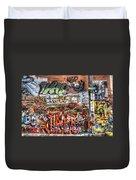 Art Alley Duvet Cover