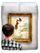 Art Appreciation Duvet Cover