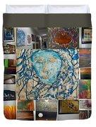 Art At Supeme Lending Duvet Cover