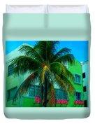 Art Deco Boulevard Hotel Miami Duvet Cover