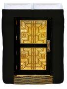 Art Deco Door Duvet Cover